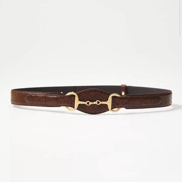 LOFT  Horsebit Buckle Belt